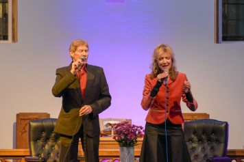 Paul and Fiona Jones ministering at TICCN Conference 2018