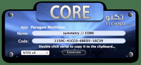 Paragon-NTFS-for-Mac-v9.0.1 تشغيل الهارديسكات على الماك
