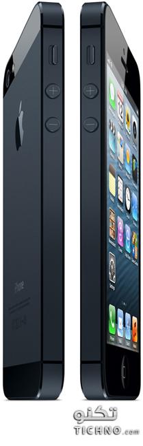 الايفون 5 الجديد - iphone 5