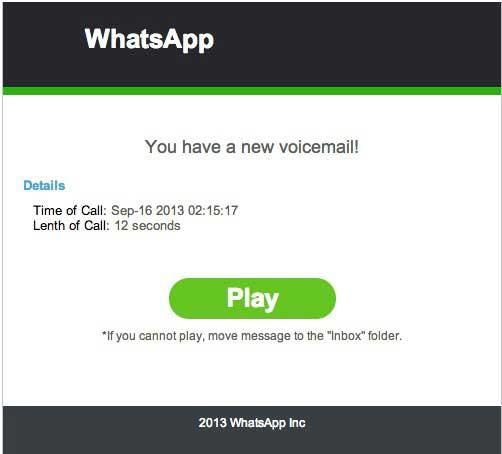 تحذير من فايروس يأتي على الايميل بمسمى تطبيق الواتس اب الشهير