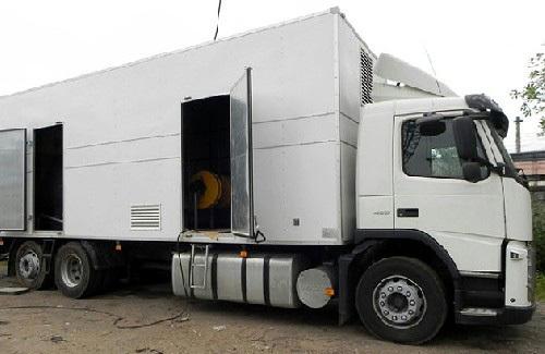 Camion forno