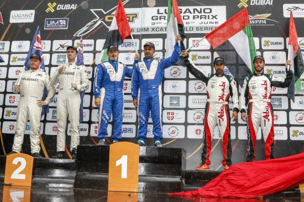 XCAT Lugano GP podium
