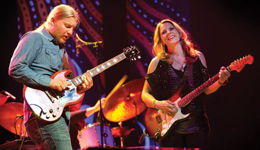 Tedeschi Trucks Band Extend 'Wheels of Soul' Tour 2019 Dates