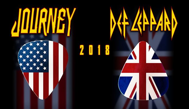 Journey & Def Leppard Announce Co-Headlining Tour 2018 – Tickets on Sale