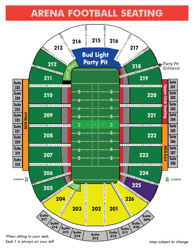 lambeau field seating chart with row numbers ...