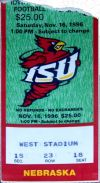 Nebraska at Iowa State 1996