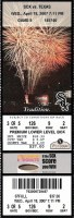 2007 Mark Buehrle No Hitter ticket stub