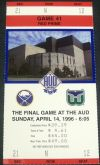 Whalers at Sabres 1996