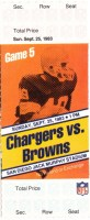 1983 Browns at Chargers