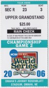 2006 College Baseball World Series