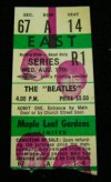 1966 Beatles at Maple Leaf Gardens Toronto