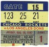1947 AAFC LA Dons at Chicago Rockets Soldier Field