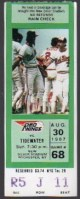 1987 Rochester Red Wings ticket stub vs Tidewater