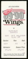 1989 Sabres at Red Wings