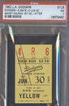 1962 Sandy Koufax 1st No Hitter ticket stub