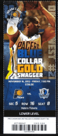 2012-13 Indiana Pacers Official Ticket Entry