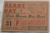 1943 Kentucky Derby ticket stub