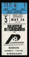 1979 NASL Rochester Lancers at Seattle Sounders