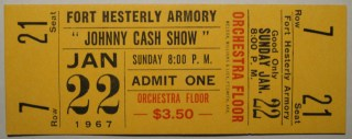 1967 Johnny Cash Fort Hesterly Armory Tampa 40 wwl