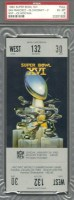 1982 Super Bowl 49ers vs Bengals full ticket