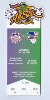 2002 AA All Star Game at Norwich ticket stub