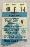 1967 Toronto Maple Leafs Stanley Cup Playoff