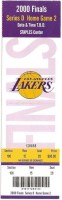 2000 NBA Finals Game 2 Pistons at Lakers
