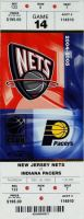 2004 NBA Pacers at Nets ticket stub