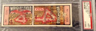 1932 World Series Game 4 Yankees at Cubs full ticket