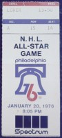 1976 NHL All Star Game Philadelphia