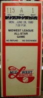 1989 MiLB Midwest League All Star Game