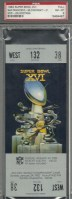1982 Super Bowl Bengals vs 49ers full ticket
