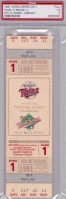 1991 World Series Game 1 ticket Braves at Twins