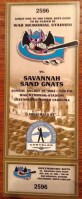 2004 Greensboro Bats ticket stub vs Savannah