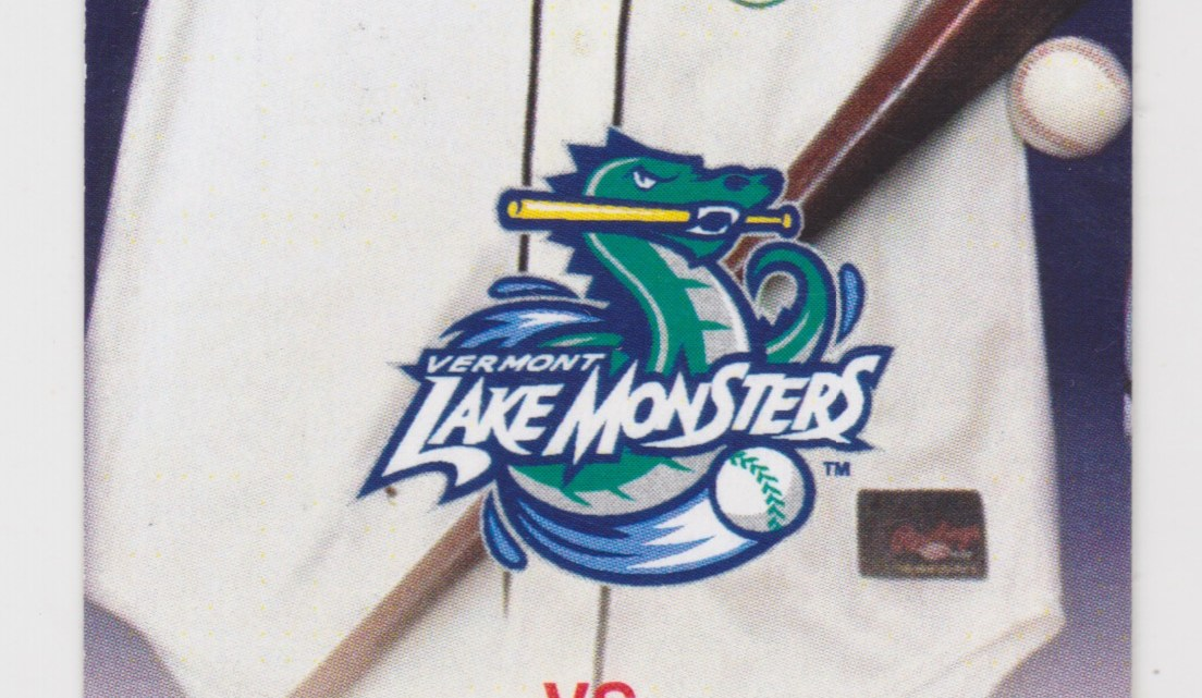 2006 Vermont Lake Monsters ticket stub vs Tri-City ValleyCats 6/23/2006