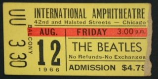 1966 The Beatles Chicago