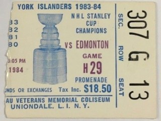 1984 Stanley Cup Final Game Oilers at Islanders 30