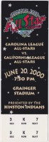 2000 Single A All Star Game