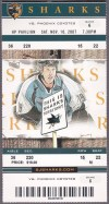 2007 Jeremy Roenick 500th Goal NHL Phoenix Coyotes at San Jose Sharks