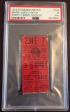 1972 Roberto Clemente Pittsburgh Pirates 3000th hit game ticket stub
