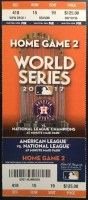 2017 World Series Game 4 ticket Astros vs Dodgers