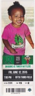 2015 Dayton Dragons ticket stub vs Timber Rattlers