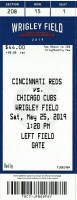 2019 Chicago Cubs ticket stub vs Reds
