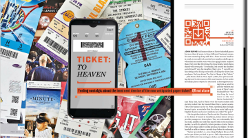 Sports Illustrated article on the demise ticket stubs and collecting