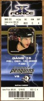 2005 Mario Lemieux Final Game ticket stub