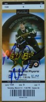 2007 Mike Modano 500th Goal ticket stub