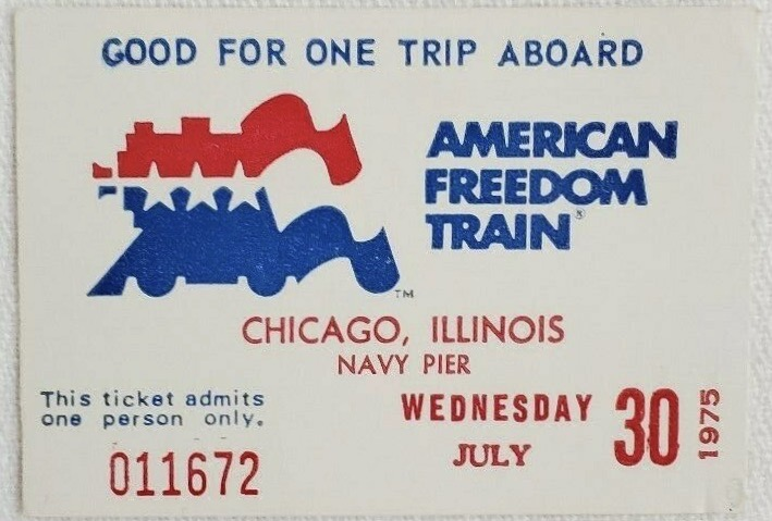 Bicentennial and 4th of July Ticket Stubs