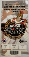2008 AHL All Star Game ticket stub Binghamton