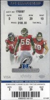 2013 NFC Championship Game ticket stub Falcons 49ers
