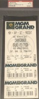 1996 Boxing ticket stub Mike Tyson vs Frank Bruno